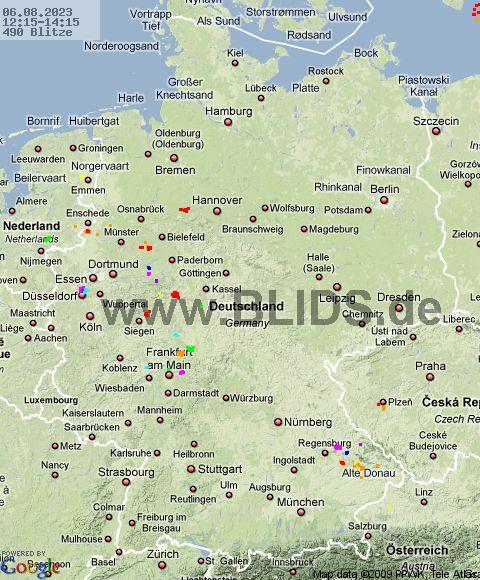 © www.Blids.de | Internetwetter -wissen, wie das Wetter wird-